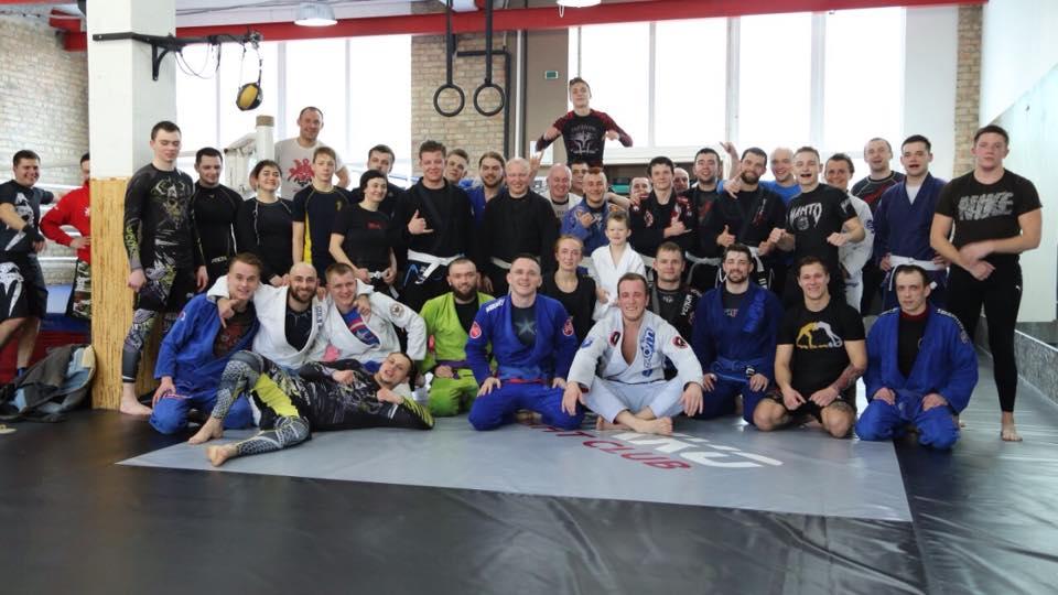 первый Open Mat по BJJ клуба единоборств Nikko Fight Club