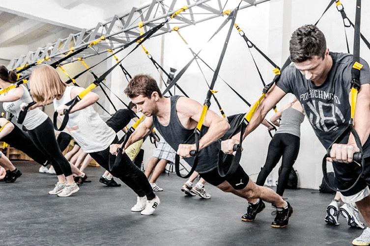 функциональная тренировка по TRX