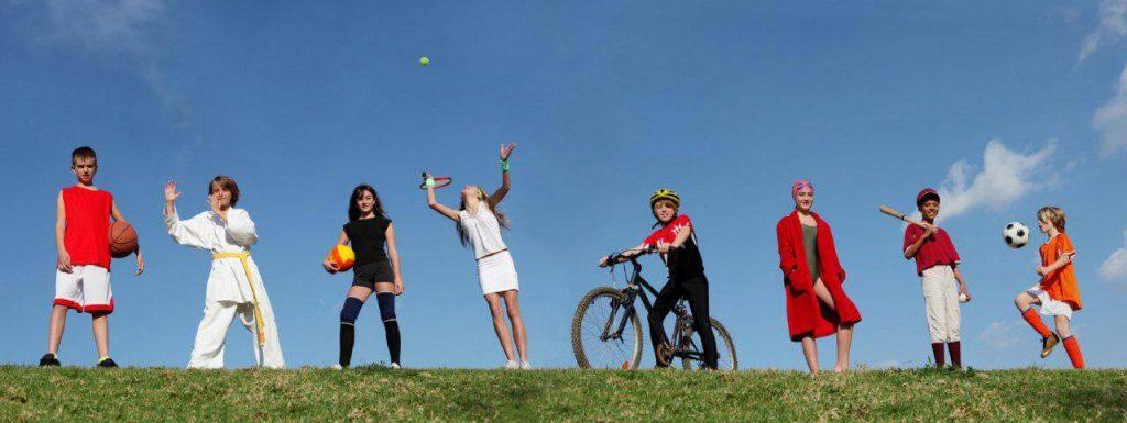 Какой вид спорта выбрать для Вашего ребенка